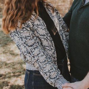 Ralph Lauren floral paisley print bomber jacket